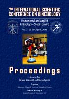 prikaz prve stranice dokumenta 7th International Scientific Conference on Kinesiology: Fundamental and applied kinesiology - steps forward : proceedings